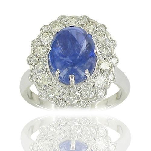 Fleur Tanzanite & Diamants