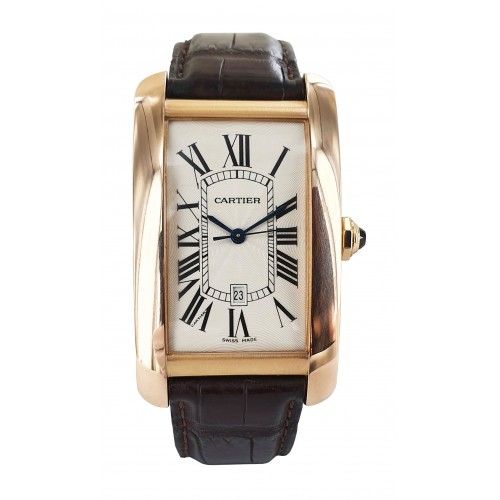 Cartier Tank Américaine gold