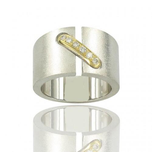 Argent & Or + Diamants
